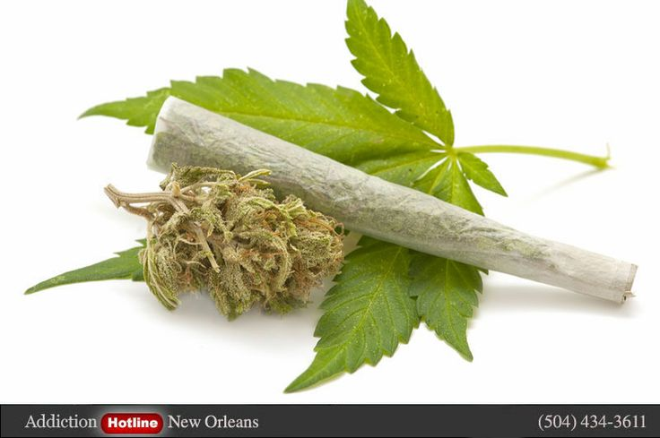 Marijuana Addiction hotline New Orleans, Louisiana