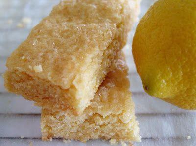 Lemon Cornmeal Shortbread - Lick The Bowl Good: A Lemon Love Affair