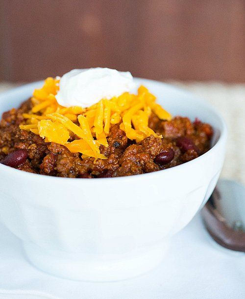 All-American Beef Chili and more ideas for a grown-up Halloween feast
