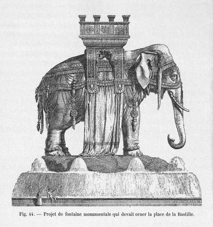 place bastille elephant