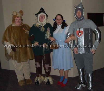 Wizard of Oz CostumeWizard Of Oz Homemade Costumes