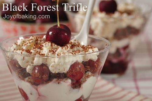 Black Forest Trifle | Sweet Recipes | Pinterest