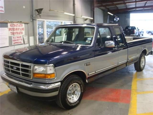 1995 Ford F150. Still own this one, brought up from Texas in mint condition.