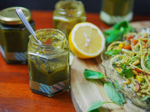 Make your own fresh basil pesto | Food Board | Pinterest