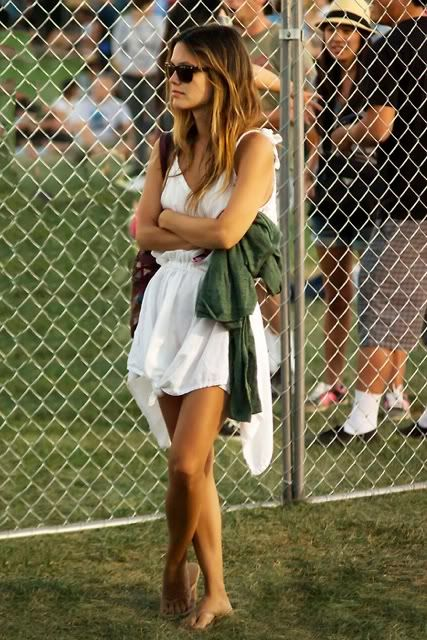 Ultimate style icon wearing my ultimate summer LWD. Where can I find a dress like this?!?