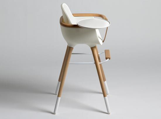 Modern chair for children called highchair ovo polo s furniture