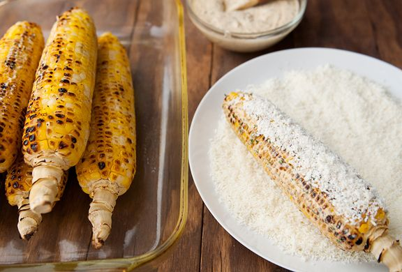 mexico city style roasted corn with chipotle mayonnaise recipe | use ...