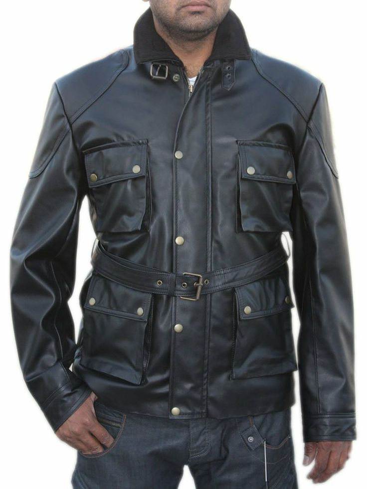Courageous Dark Knight Rises Leather Jacket worn by Tom Hardy! This