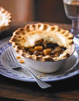 chestnut & ale pie | Best of British | Pinterest