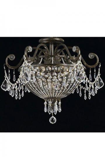 i really like chandeliers...  Paris Flea Crystal Chandelier