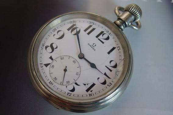 pin clock watch omega - photo #48
