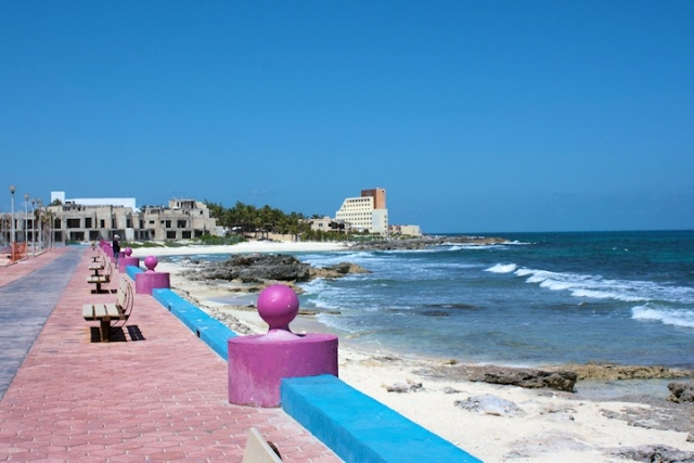 Isla Mujeres.  Took the family on a vacation