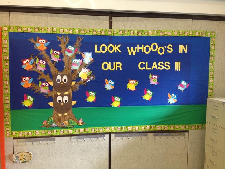 Classroom Bulletin Board Ideas With Owls : Owl bulletin board bible crafts pinterest