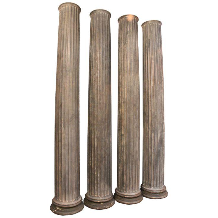 Zinc doric columns usa 19th century doric column pinterest for Doric columns