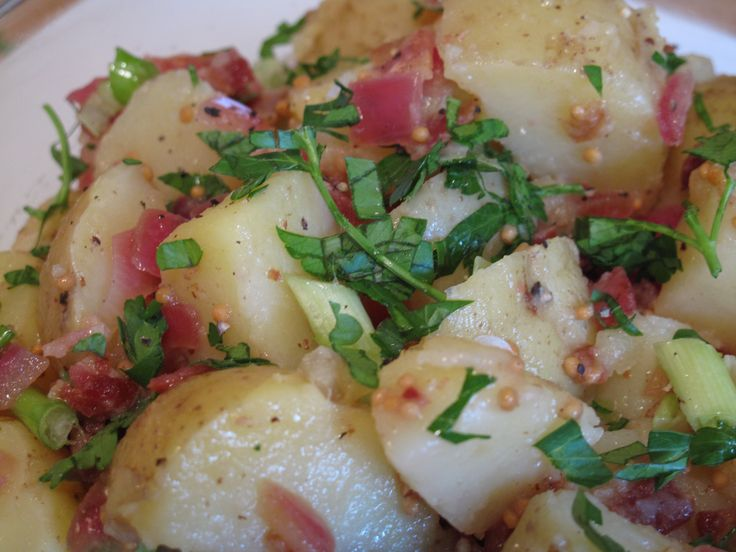 Bobby Flays German Potato Salad (No Mayo!)~ This potato salad is ...