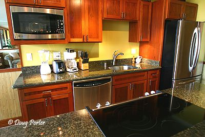 stylish black kitchen for luxury interior design ideas wallpaper 01