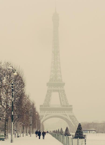 Paris & snow - beautiful
