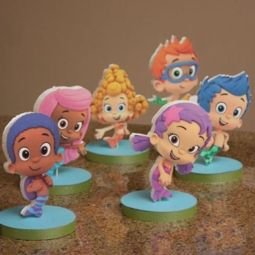 Bubble guppies birthday party centerpieces - Bubble guppie birthday ideas ...