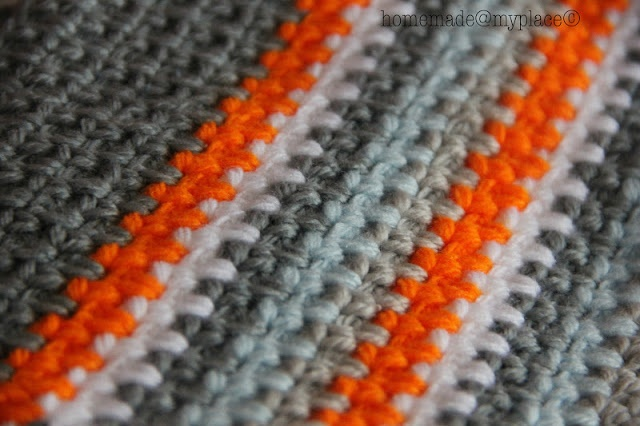 Crochet Stitches Moss Stitch : moss stitch