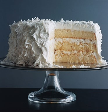 Fresh Coconut Layer Cake- I have made this before and it's Divine