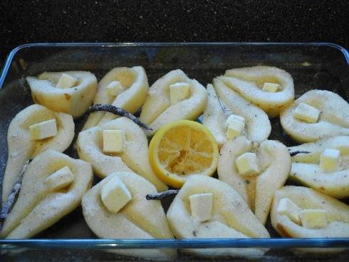 Jim Beam Vanilla Roasted Pears | Yum Yumminess | Pinterest