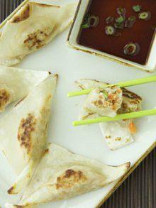 Simple Pan Seared Dumplings from Weelicious.com