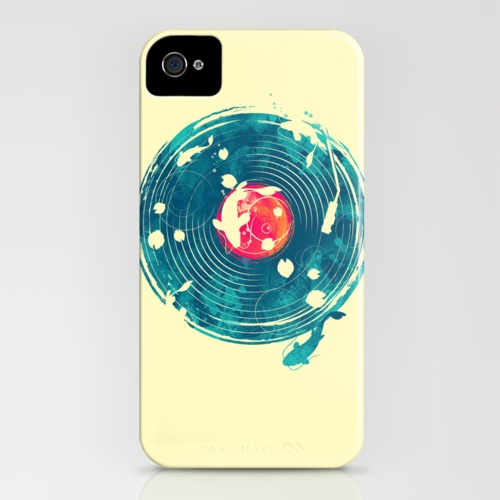 sound of water iPhone Case