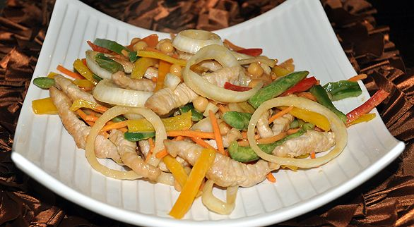 "Peanut Butter Pork Stir-Fry Quick and easy homemade ""Chinese"" food ..."
