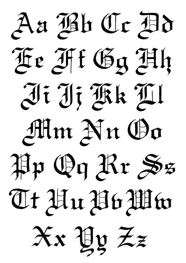 600 847 Gothic Script