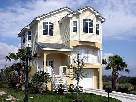 Narrow beach house beach pinterest Coastal home plans narrow lots