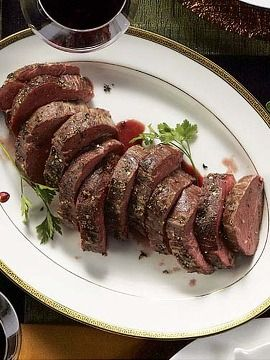 jus beef tenderloin rosa di parma bacon wrapped beef tenderloin ...
