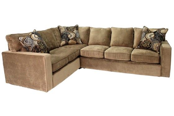 Mor Furniture For Less Dico Otter Right Facing Sectional Sectionals Sofas Chairs Shop