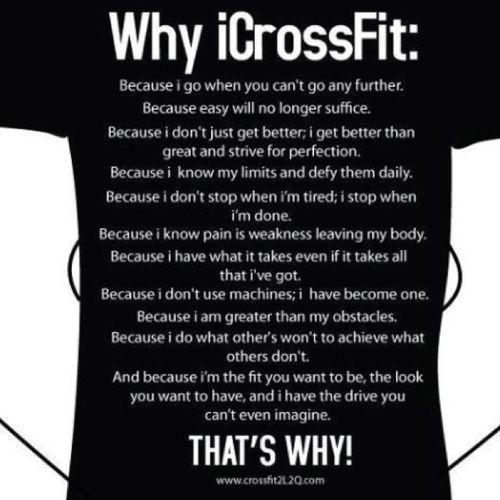 crossfit crossfit motivation tumblr fitspiration