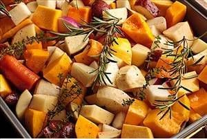 88 calorie side dish-Slow Roasted Root Vegetables - Recipe Details