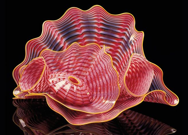 Dale Chihuly Glass Artist Seaforms Glass Pinterest