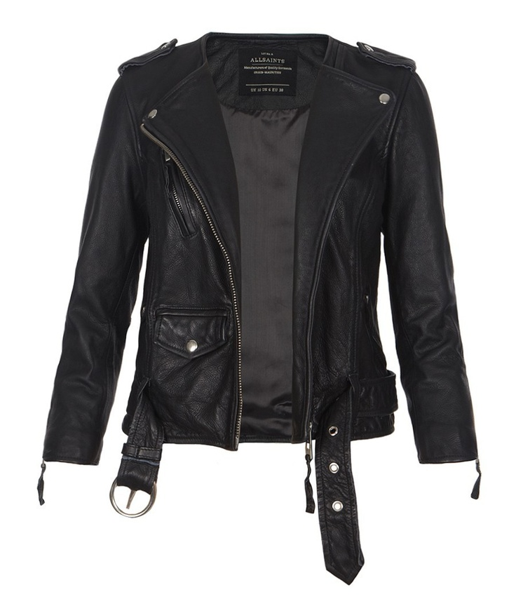 Cropped Riley Leather Jacket | make it appear in my closet | Pinterest