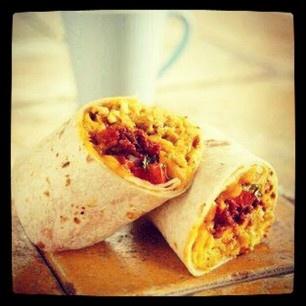 Chorizo And Egg White Breakfast Burrito Recipes — Dishmaps