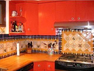 mexican tile backsplash i like it mexican decor