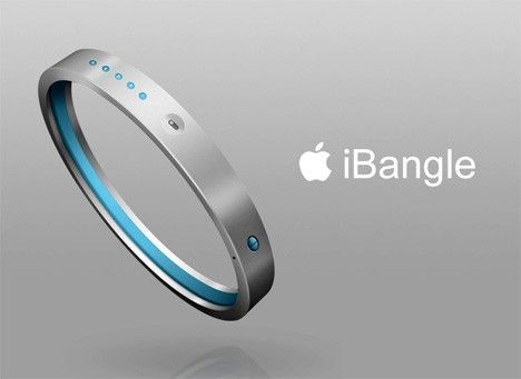iPod running bracelet with wireless headphones. so cool!
