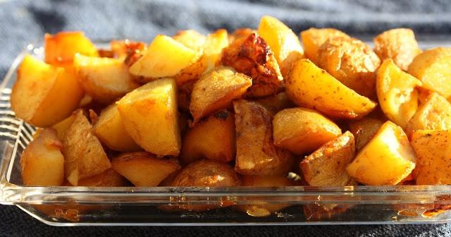 Honey Roasted Red Potatoes | Fruit & Veggies | Pinterest
