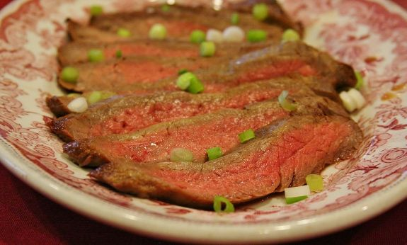 Grilled Flank Steak with Asian Flair (Kristin's Lake house recipe ...