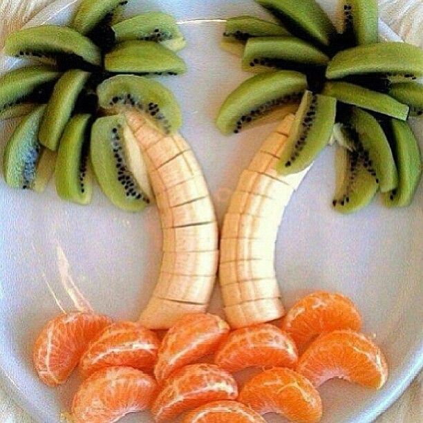 Healthy food--cute creative