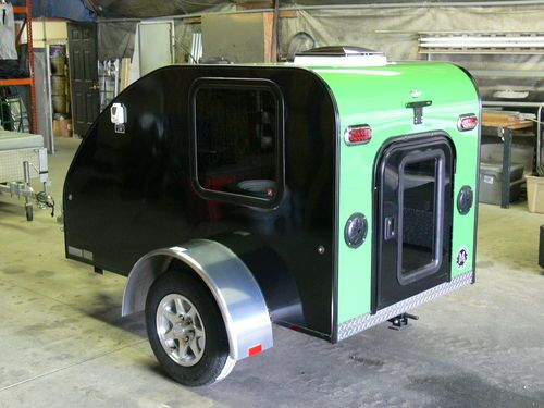 Camping Trailers Pulled By Motorcycles Model Pink
