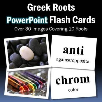 Free Greek Root Powerpoint Flash Cards Using Pictures