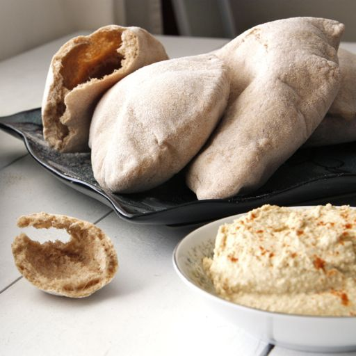 Pita bread--I'm obsessed with it. Mine haven't puffed up to make a ...