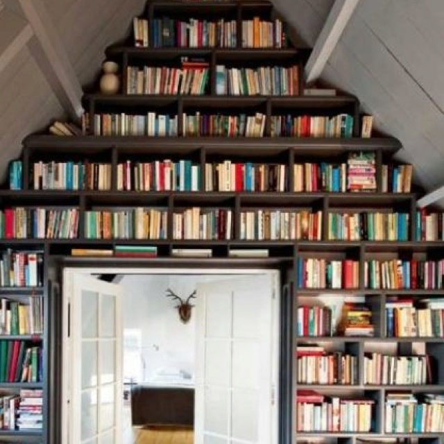My house will have books as far as the eye can see Kathy Hanneman