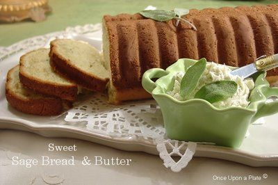 Sage Bread with Sage Butter | Breads | Pinterest