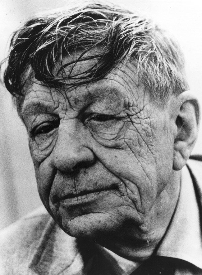 w.h. auden--great, beloved poet who always looks like an unmade bed.
