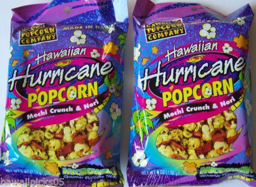 ... Popcorn Snacks with Rice Crackers Arare and Nori Komi Furikake - for