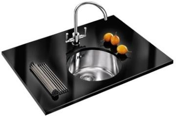 Franke Stainless Steel Rotondo B/Under Rux 110 Kitchen Sink